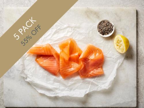 Scottish Smoked Salmon 5 pack